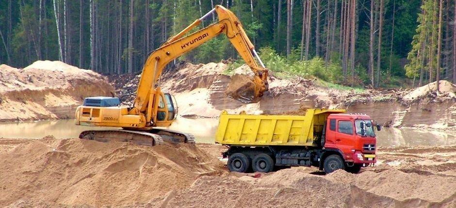Песок Карьерный в Домодедово, Видное